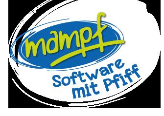 Mampf Logo mit Link zur Startseite